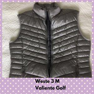 Valiente Down Vest silver-colored-grey polyamide
