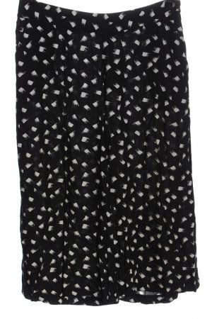 Steps Culottes black-white allover print casual look