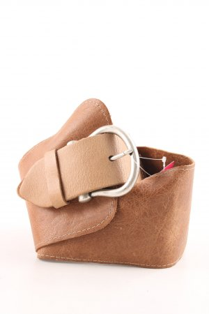 Steps Leather Belt brown casual look