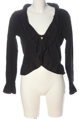stereo maman Shirt Jacket black casual look
