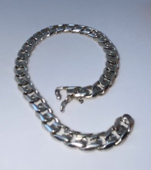STERLING Silber Armband - massiv