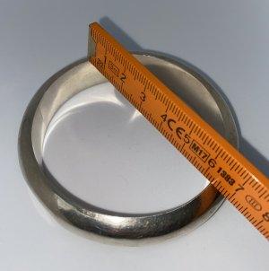 925er Silber Braccialetto grigio chiaro Tessuto misto