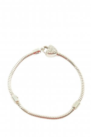 sterlinks Charm Bracelet silver-colored casual look