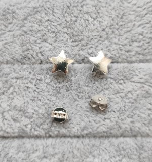 Stern Tiny Star Ohrstecker 925 Sterling Silber Ohrringe