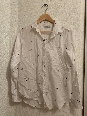 Colins Long Sleeve Shirt white-black