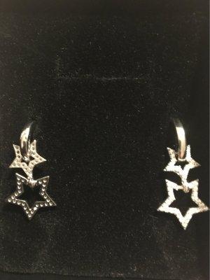 Sternen Ohrringe mit Glitzersteinen