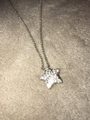 Danish Design Necklace silver-colored