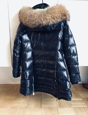 Strenesse Down Coat multicolored pelt