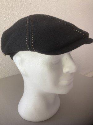 STETSON Sombrero de tela negro-camel Lana