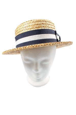 STETSON Straw Hat multicolored casual look