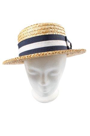 STETSON Chapeau de paille multicolore style décontracté