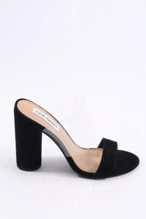 Steve Madden Heel Pantolettes black elegant