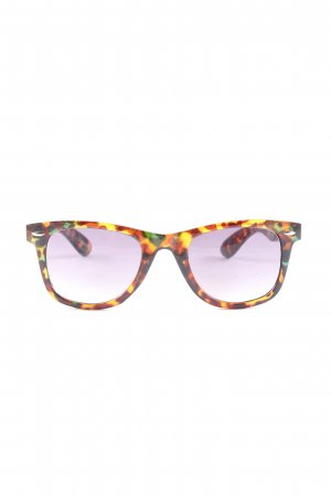 Steve Madden eckige Sonnenbrille Allover-Druck Elegant