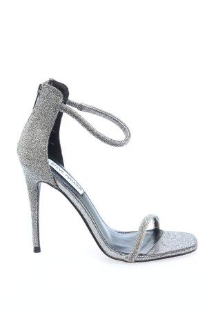 "Steve Madden High Heel Sandal ""Rapture-C Boot"" silver-colored"