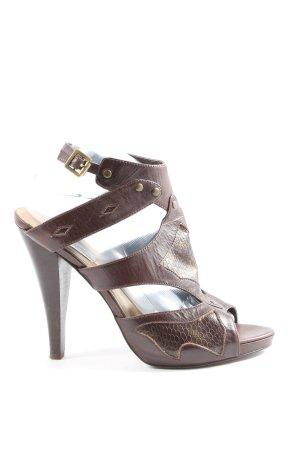 Steve Madden High Heel Sandaletten braun Elegant