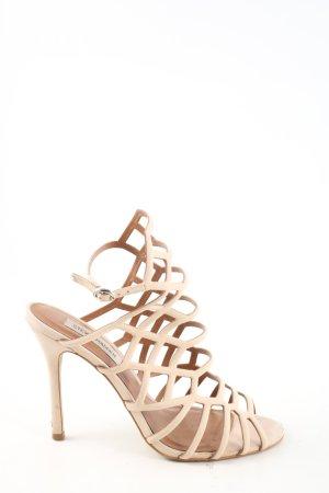 Steve Madden High Heel Sandaletten creme Casual-Look