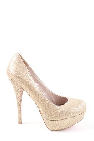 Steve Madden High Heels goldfarben Elegant