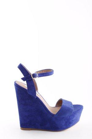Steve Madden Keil-Pumps blau Elegant
