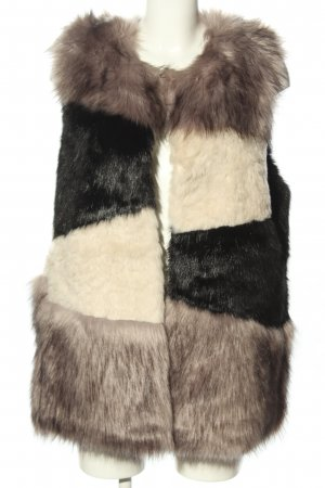 Steve Madden Fake Fur Vest multicolored casual look
