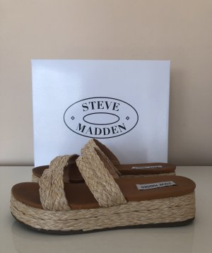 Steve Madden natural Sandalen / Pantoletten in Gr.39, Neu ohne Karton!