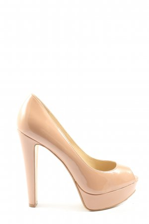 Steve Madden Peeptoe Pumps nude Casual-Look