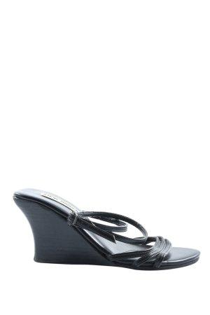 Steve Madden Platform Sandals black casual look