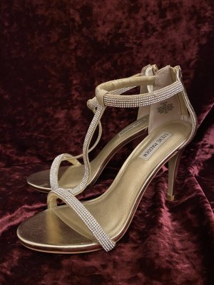 Steve Madden Red Carpet Glamour High Heels, 41, Gold
