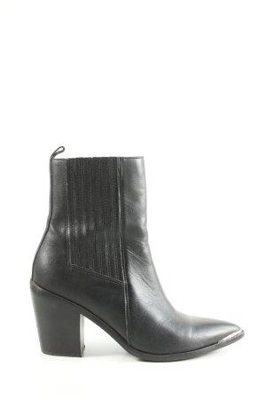 Steve Madden Reißverschluss-Stiefeletten schwarz Casual-Look