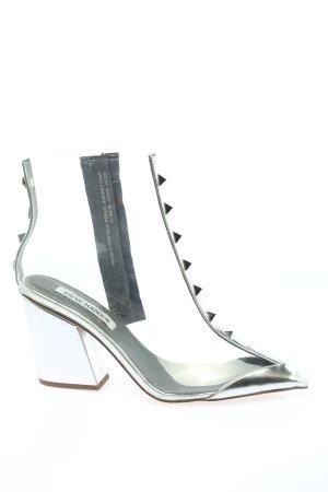 Steve Madden Reißverschluss-Stiefeletten weiß Elegant