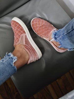 Steve Madden Samt Velvet Sneaker Slipper Mokassin