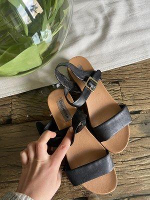 Steve Madden Toe-Post sandals black-brown