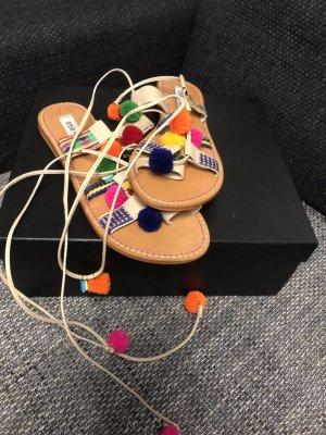 Steve Madden Sandalo toe-post multicolore Pelle