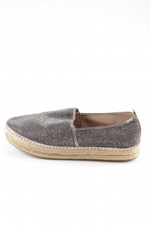 Steve Madden Slip-on Shoes silver-colored wet-look