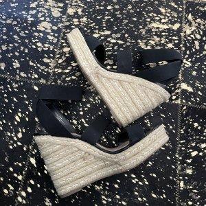 Steve Madden Platform Sandals black