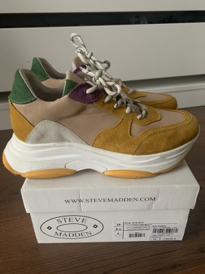 Steve Madden Platform Trainers multicolored leather