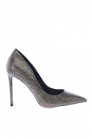 """Steve Madden Pointed Toe Pumps """"Vala-R Heel Pumps"""" silver-colored"""