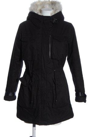 Steve Madden Winter Jacket black casual look