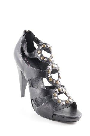 Steven High Heel Sandaletten mehrfarbig Street-Fashion-Look