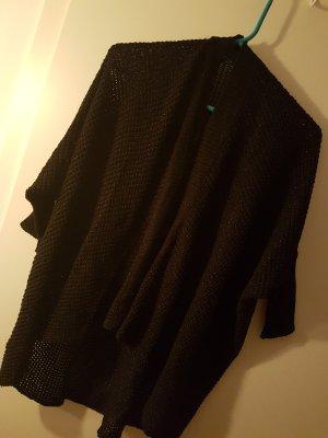 untitled Coarse Knitted Jacket black