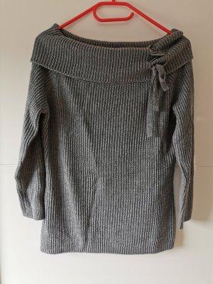 Colloseum Maglione lavorato a maglia grigio