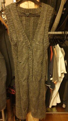 Hallhuber basic Short Sleeve Knitted Jacket grey