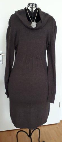 Street One Vestido tejido marrón-negro
