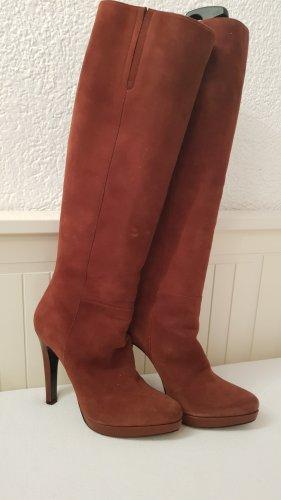 Barbara Bui High Heel Boots russet