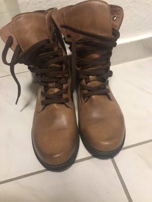 Aanrijg laarzen lichtbruin