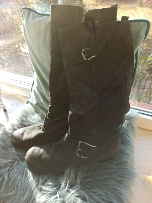 Paul Green Heel Boots black