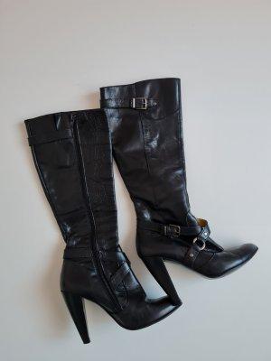 Carmar Wysokie buty na obcasie czarny