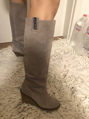 Gant Platform Boots light grey