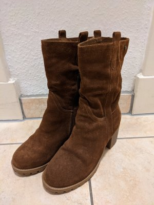 Carmela Heel Boots brown