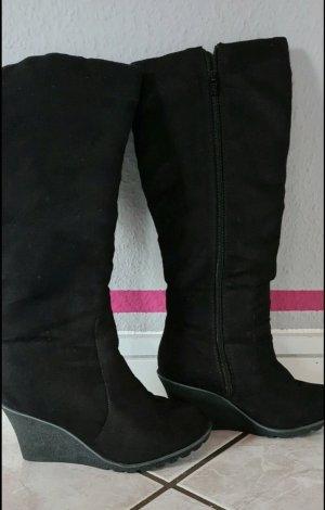 C&A Yessica Heel Boots black