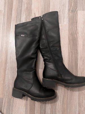 Botas de invierno negro-color plata
